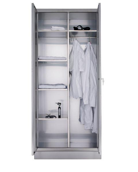 Edelstahl-Wäscheschrank M002B